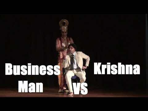 Drama -- Frustrated Business Man vs Krishna -- Directed by H.G. Rasraj Prabhu