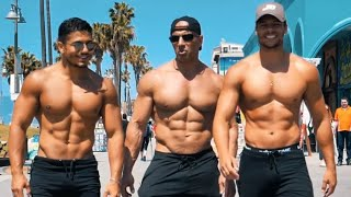 MUSCU TORSE NU EN PLEINE RUE | Muscle beach Ft Jamcore DZ | Bodytime