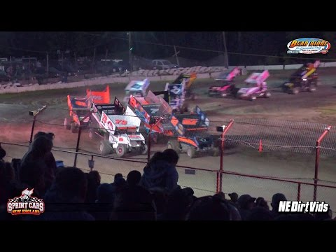 Highlights: Sprint Cars of New England | Bear Ridge Speedway 7 2 2016