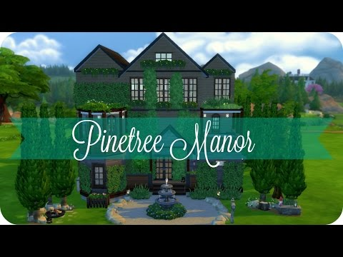 Sims 4 Speed Build | Pinetree Manor | Traditional Family Home