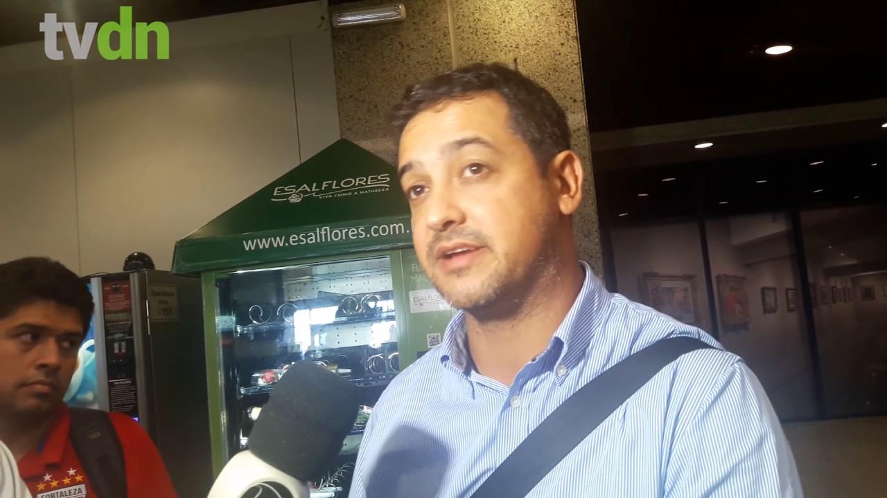 Marquinhos Santos fala sobre sua primeira partida ao retornar para o Fortaleza