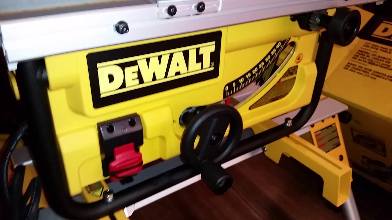 Mounting The Dewalt Dwe7480 Saw To Rolling Stand Dw7440rs