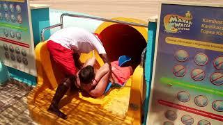 "Makadi Water World! Jaz Aquaviva hotel Hurghada, Egypt. ""EXTREME WATERPARK"""