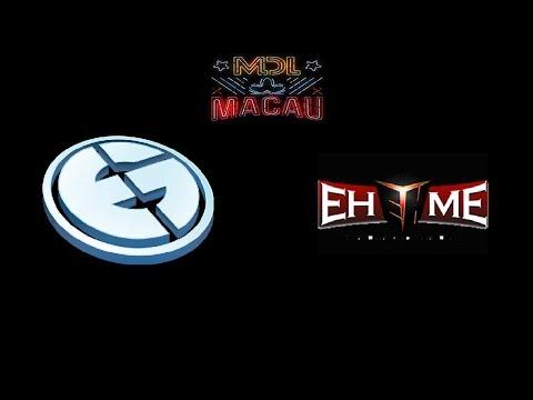 EG vs EHOME MDL Macau Highlights Dota 2