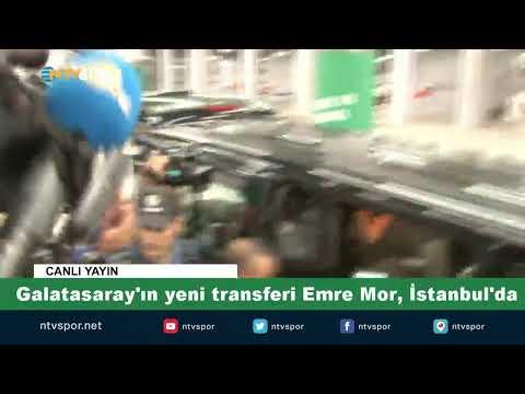 #CANLI   Emre Mor, Galatasaray için İstanbul'da