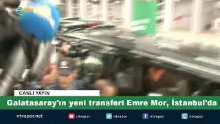#CANLI | Emre Mor, Galatasaray için İstanbul'da
