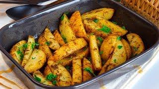 بطاطس ودجز زي بتاعة المطاعم بتتبيلة مميزة قدميها جنب المشويات او اي نوع كفتة