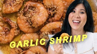 I Recreated World Famous Garlic Shrimp Scampi | Honeysuckle Hawaiian Adventures