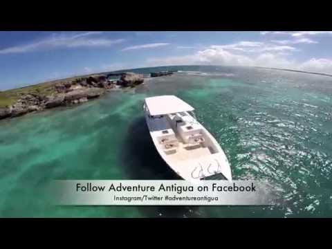 Adventure Antigua - Eco Tour clip during their stop at Hell's Gate