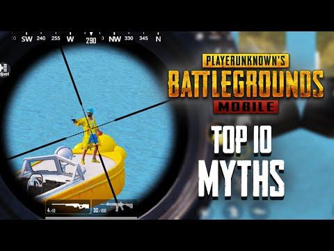 Os 10 melhores Mythbusters em PUBG Mobile | PUBG Mitos # 5 + vídeo
