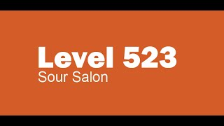 Candy Crush Saga level 523 Help,Tips,Tricks and Cheats