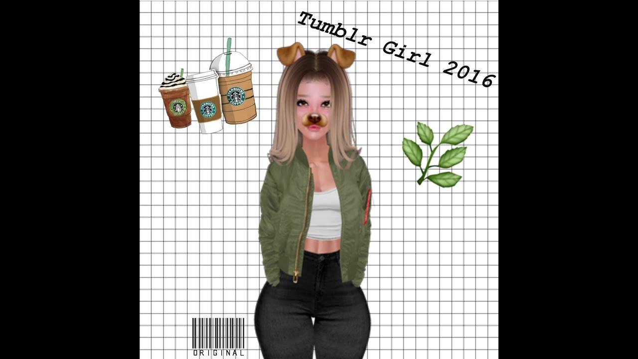 Imvu cute tumblr girl youtube for Tumblr girl pictures ideas