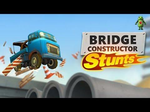 Bridge Constructor Stunts (iOS/Android) Gameplay HD