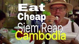 $9.00 A DAY Phnom Penh Cambodia STREET Food: Retirement in Asia Enjoy Khmer Food