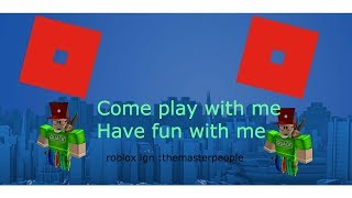 PLAYING ROBLOX GAMES E.G. ROBLOX BLOXBURG AND MORE COME JOIN ME!!!!