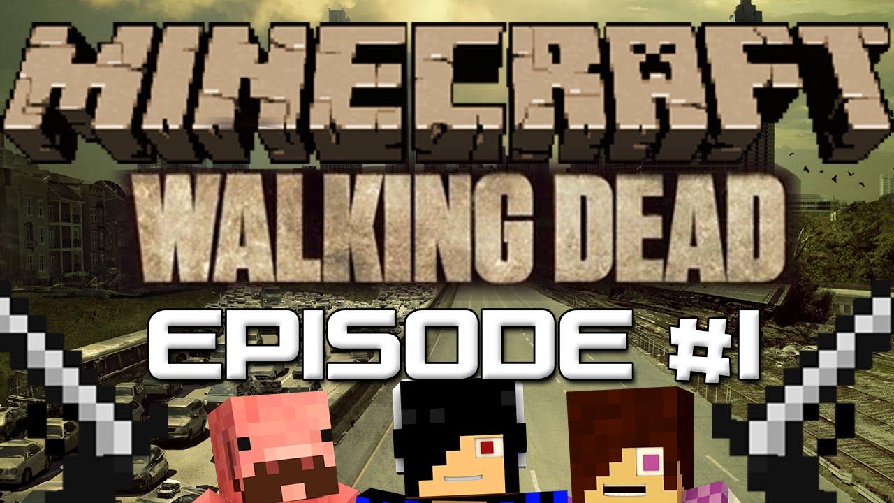 The return minecraft walking dead survival 1 funnydog tv for Crafting dead server download