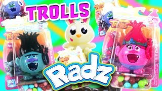 Jumping Jack with DreamWorks Trolls! Poppy, Branch, and Guy Diamond Win New Radz Candy Toys!