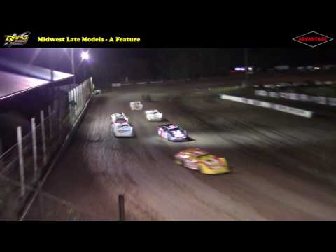 Midwest Late Models -- 6/16/17 -- Rapid Speedway