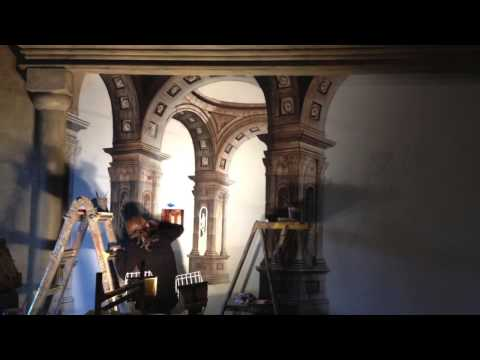 ROMAN CASINO ARCHITECTURAL GARDEN