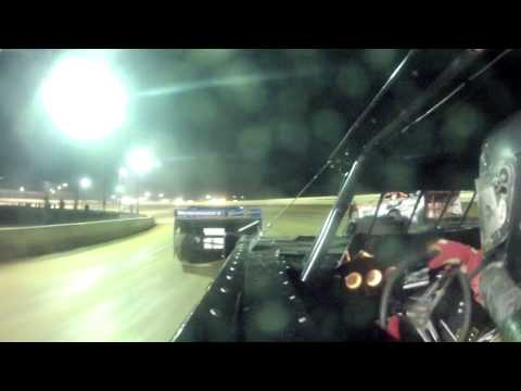 Andy Haus in Car Camera Port Royal Speedway 6-15-13