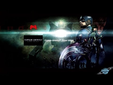 Captain America Super soldat [PS3][720p][FR] Film complet