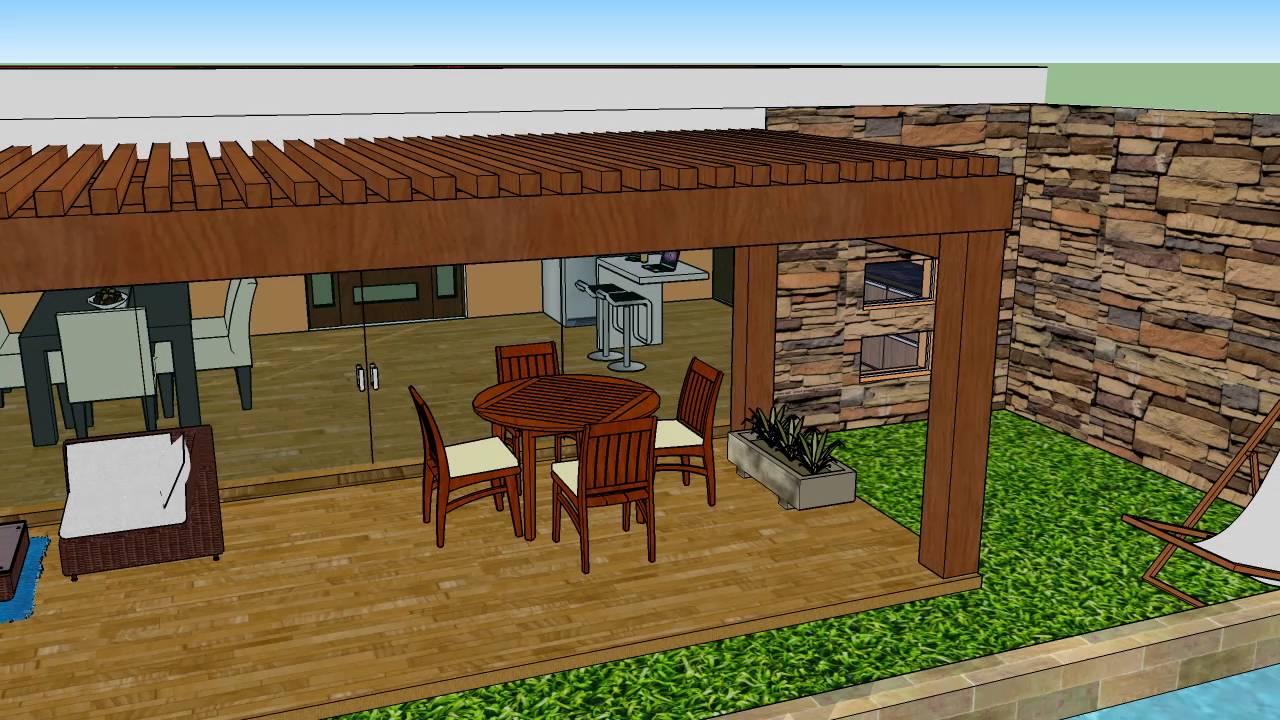 Cocina terraza youtube for Cocinas para terrazas