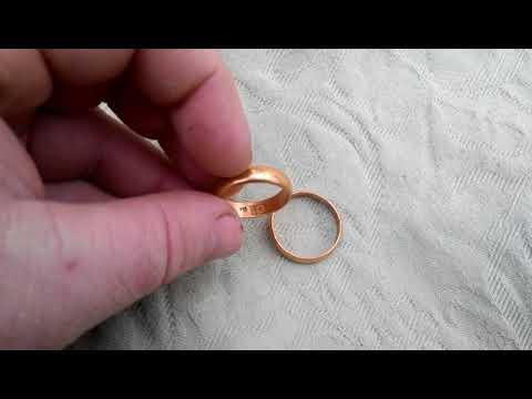 Два обручальных кольца 92 золотника .Царские 19 век.