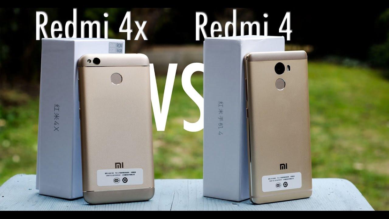 Xiaomi Redmi 4x Vs Redmi 4 Close Look Amp Antutu