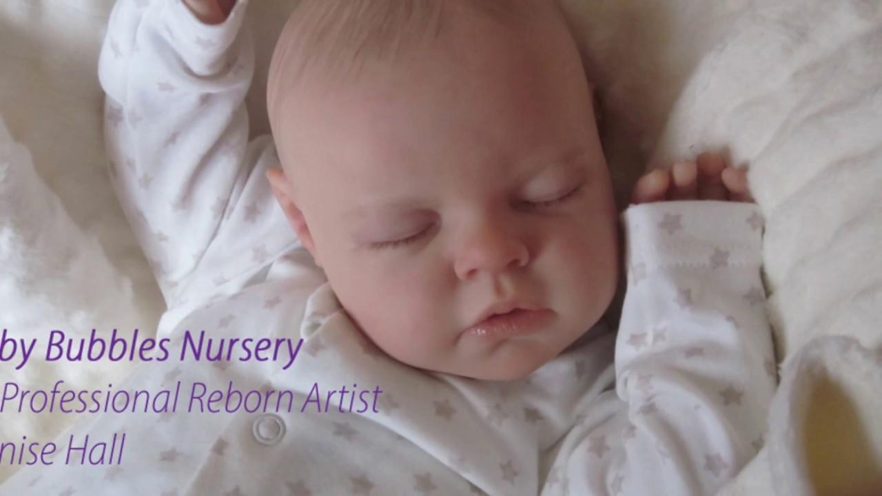 Slideshow Baby Bubbles Nursery Life Like Reborn Dolls Custom Adoption Made Denise Hall Artist