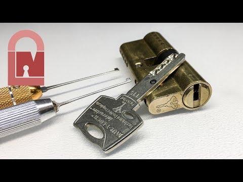 Взлом отмычками Mul-T-Lock Interactive  (448) Mul-T-Lock Interactive Euro Picked ()
