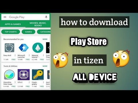 play store in tizen - Myhiton