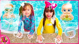BRINQUEDO NOVO, PLAYSET BABY SECRETS CANDIDE! NEW BABY SECRETS! COLOR CHANGE BABY DOLL COLLECTION !