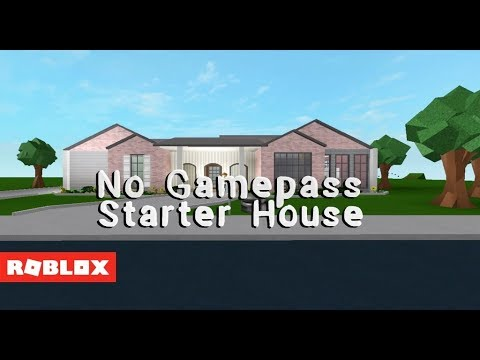 Roblox Bloxburg - 20K No Gamepass Starter House