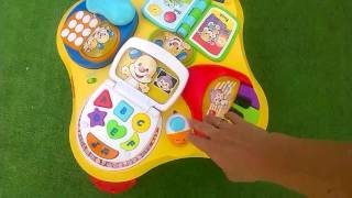 Обзор детского музыкального столика
