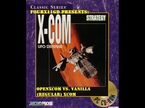 X-Com:  UFO Defence Vanilla Vs. OpenXcom