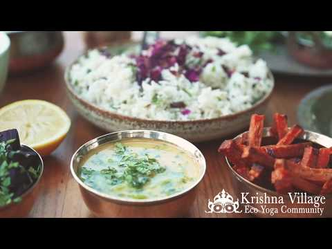 Ayurvedic cooking course with Devi and Mukunda
