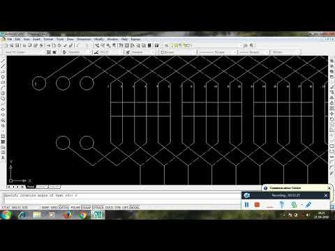 Auto CAED ( 24 conductor 4 poles double layer progressive lap winding)