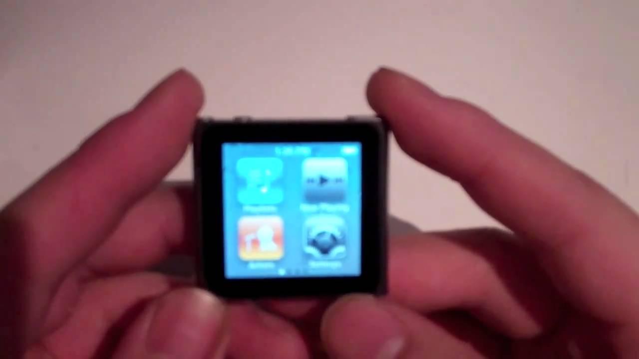 ipod nano 6th generation 8gb 16gb graphite review youtube rh youtube com iPod Nano 5th Generation Manual Amazon iPod Nano 7th Generation