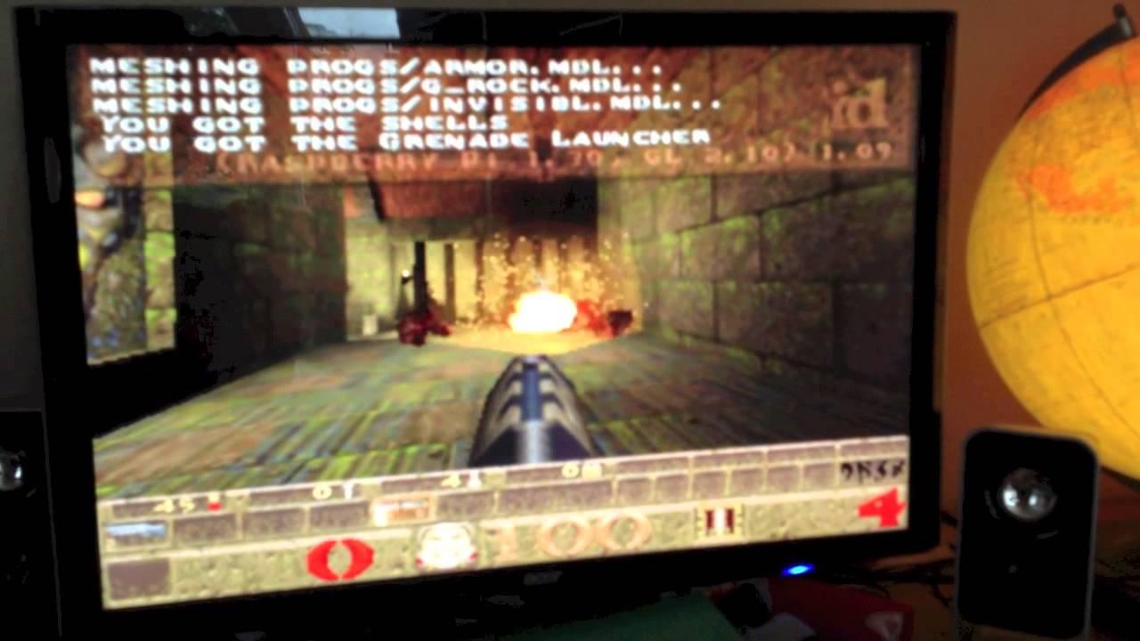 Quake 1 / QuakeWorld on Raspberry Pi