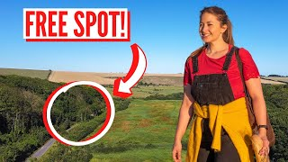 Wild Camping In England - First Night In Camper Van | Safe Covid Europe Travel Series 2