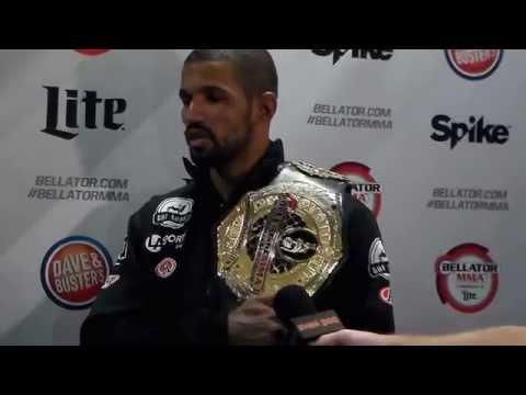 Rafael Carvalho Bellator 144 Interview