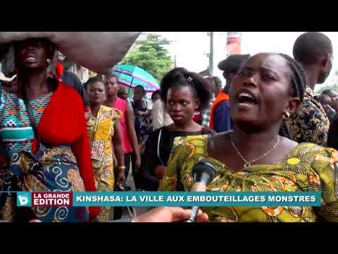 Kinshasa La ville aux embouteillages monstres