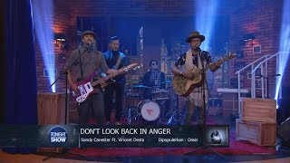 Download lagu Vincent Desta - Don't Look Back In Anger (OASIS) Cover - Tonight Show Jamming Session