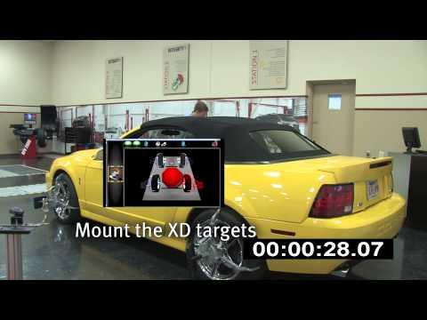 John Bean V3450 Wireless Imaging Wheel Alignment Audit