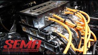 600hp Electric Crate Motor At Sema (2018)