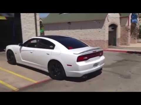 New Dodge Charger >> 2013 Dodge Charger Hemi flowmaster exhaust install - YouTube