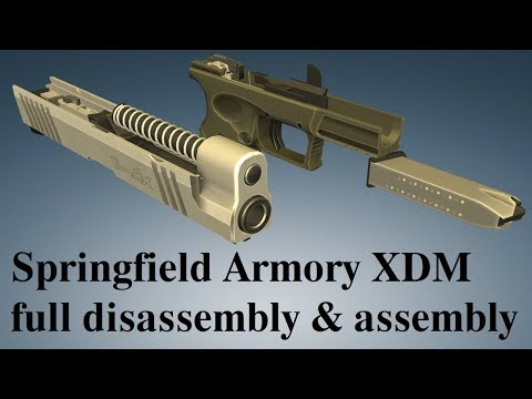 Springfield Armory XDM: full disassembly & assembly