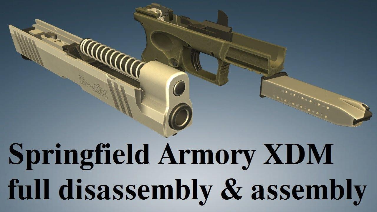 Springfield Armory XDM: full disembly & embly on