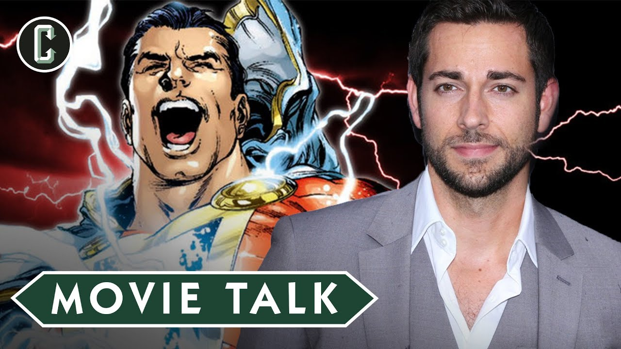 'Shazam!' Star Zachary Levi Was Cast After Director David F Sandberg Saw 'Over 100 People' (Video)