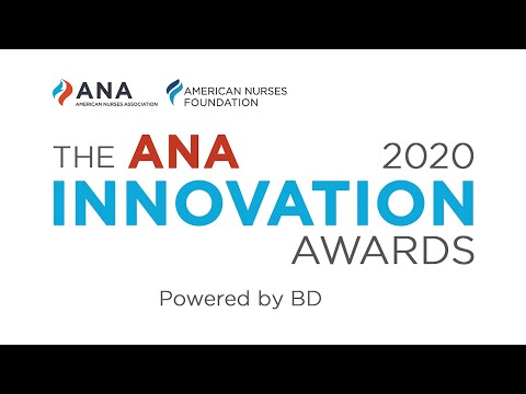 2020 American Nurses Association Innovation Awards Powered By BD